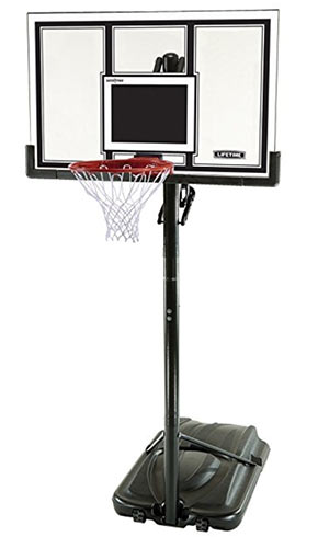 portable adjustable basketball goal