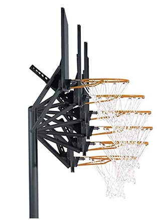 basketball hoops outdoor adjustable portable