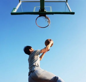 tempered glass portable basketball hoop