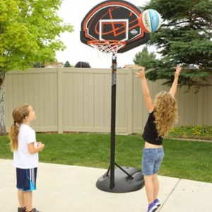 best portable basketball hoop for 10 year old