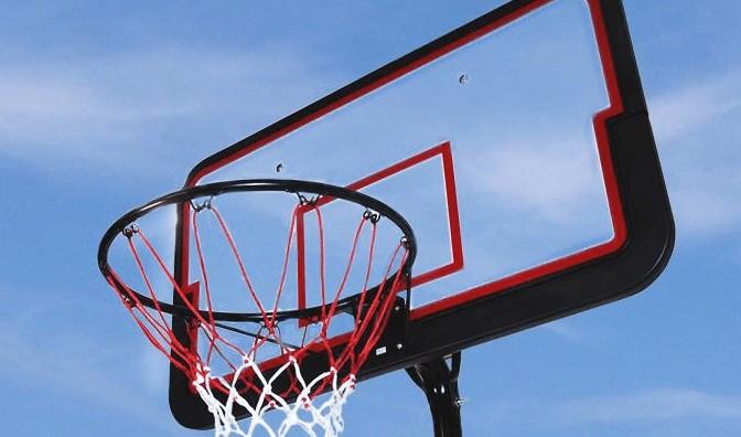 spalding acrylic basketball hoop