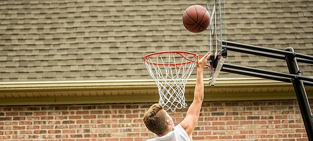 outdoor mobile basketball hoops