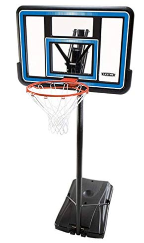 portable adjustable basketball hoop