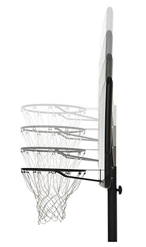 portable and adjustable basketball hoops