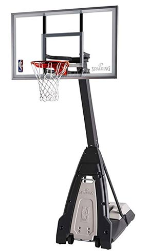 best portable basketball hoop glass