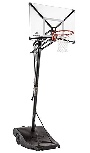 silverback basketball backboard