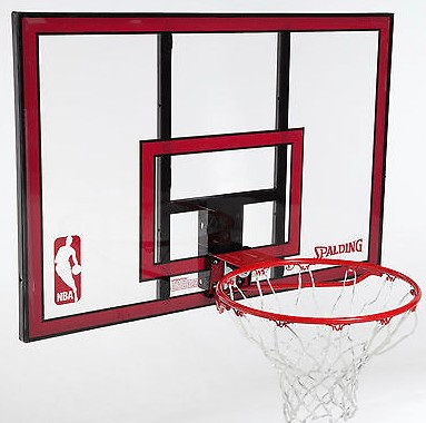 spalding 44 portable basketball hoop