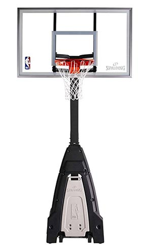 spalding basketball system reviews