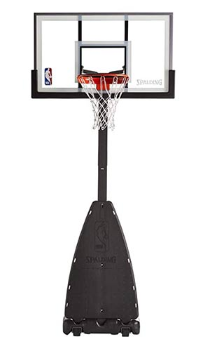 spalding portable basketball goal