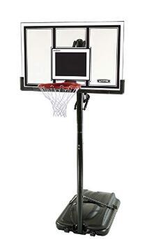 spalding 54 acrylic portable basketball system