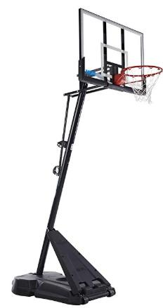 spalding 50 portable basketball system