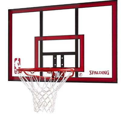 spalding 44 basketball backboard