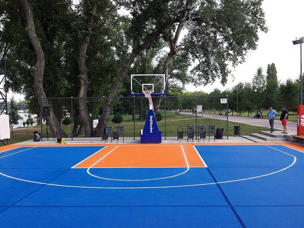 how to build a basketball court in your backyard
