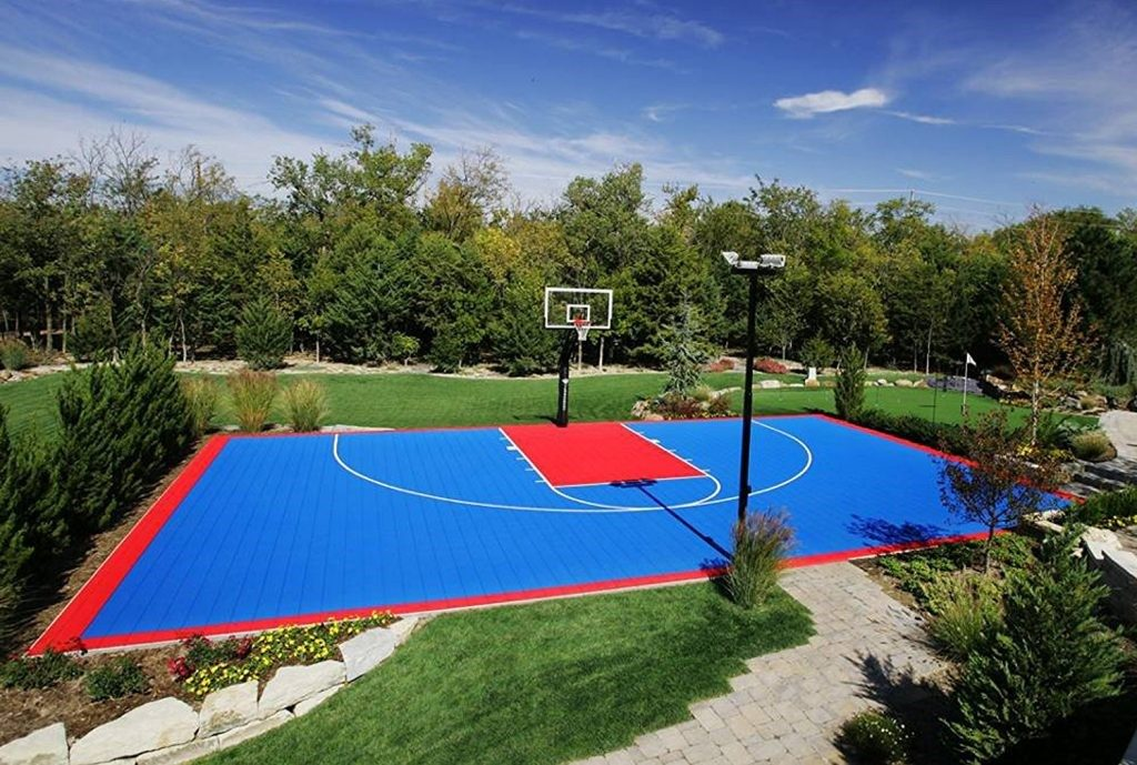 how wide is a basketball court
