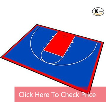 basketball court surface material