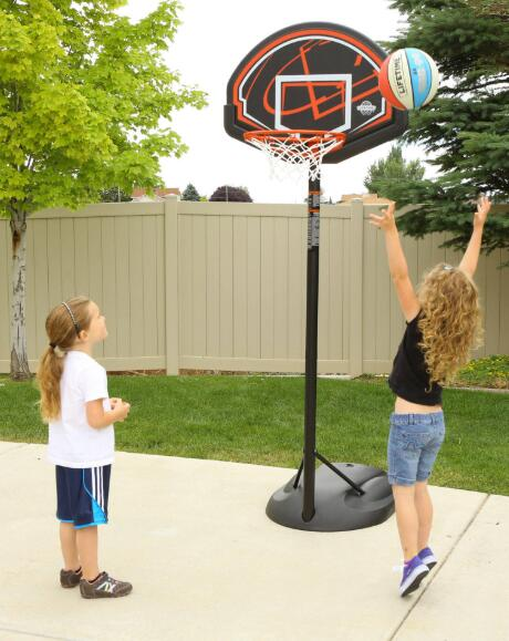portable basketball hoop for 8 year old