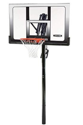 portable glass basketball hoop