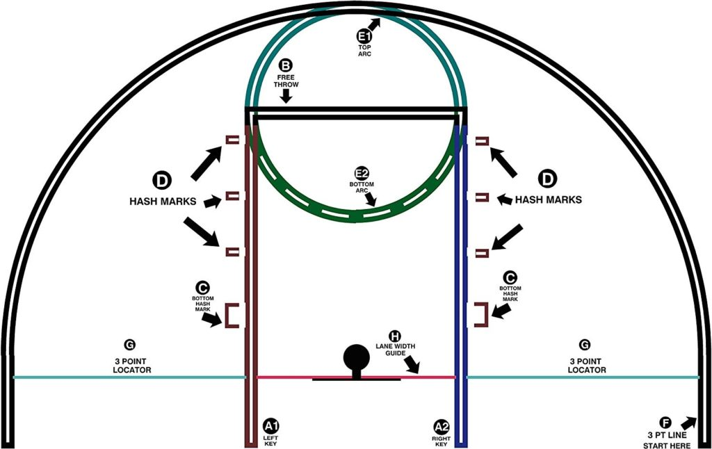 indoor basketball court price