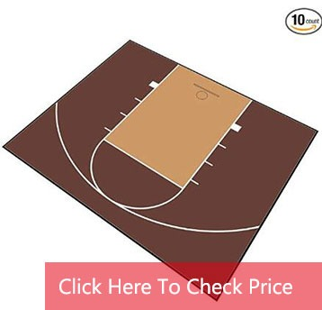 outdoor basketball court flooring material