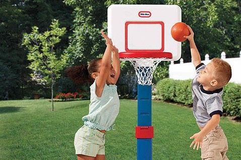 little kids basketball hoop
