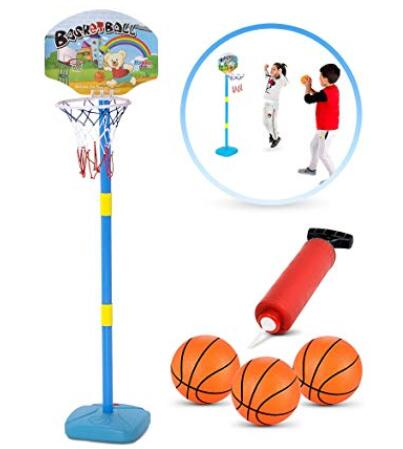 kids portable basketball hoop