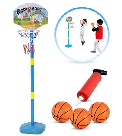 kids portable basketball hoop