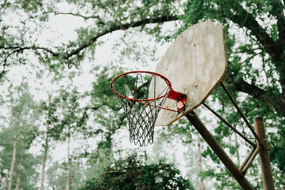driveway net for basketball