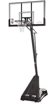 best price spalding basketball system
