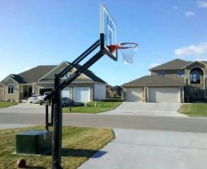 in ground adjustable basketball hoop reviews