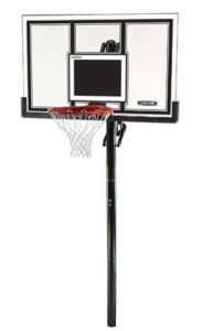 lifetime basketball hoop in ground