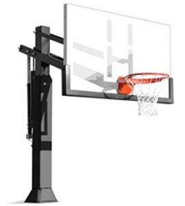 portable outdoor basketball court