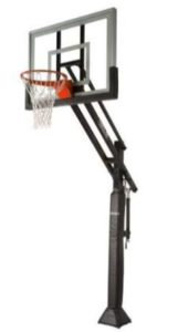 spalding 54 in ground basketball system