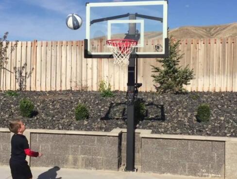 72 in ground basketball hoop