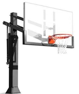 spalding in ground basketball system