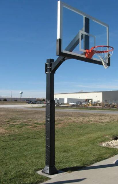 goliath in ground basketball hoop