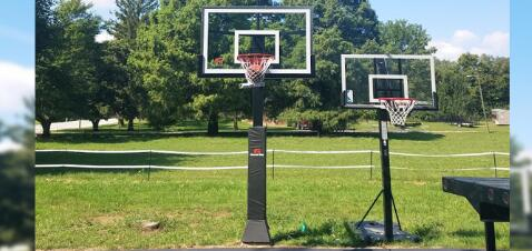 lifetime 54 inch in ground basketball system
