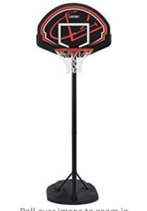 mini basketball hoop with stand