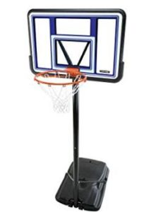 outdoor basketball backboard and hoop