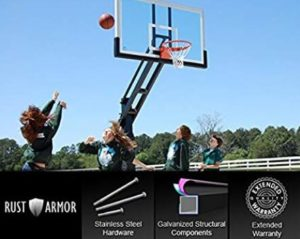 best outdoor basketball hoop in ground