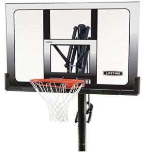 in ground basketball hoop under $500