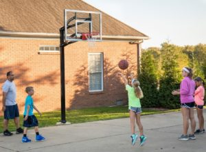 in ground basketball hoop costs