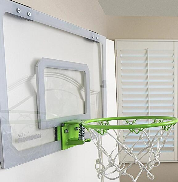 mini basketball and hoop