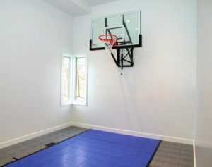 mini metal basketball hoop