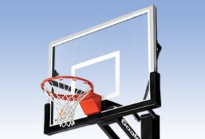 heavy duty basketball hoop