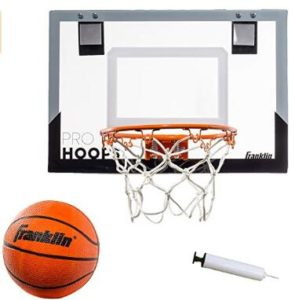 adjustable indoor basketball hoop