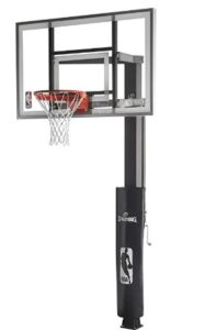 spalding 60 in ground basketball hoop