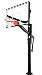 in ground basketball hoop system