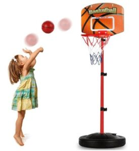 basketball hoop for kids adjustable