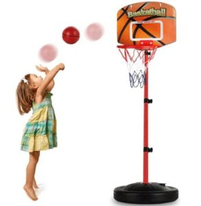 adjustable basketball hoop for toddlers