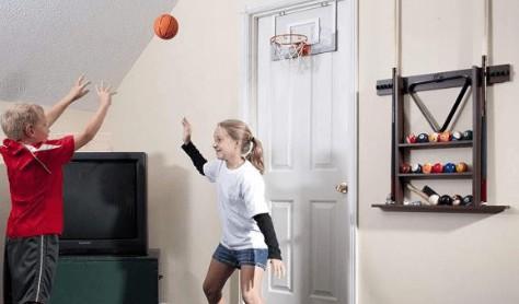 electronic over the door basketball hoop